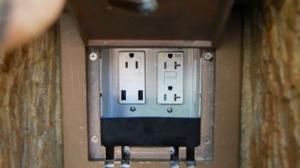 Charging station after USB upgrade (Photo credit: WDWMAGIC.com)