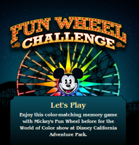 Mickey's Fun Wheel Challenge